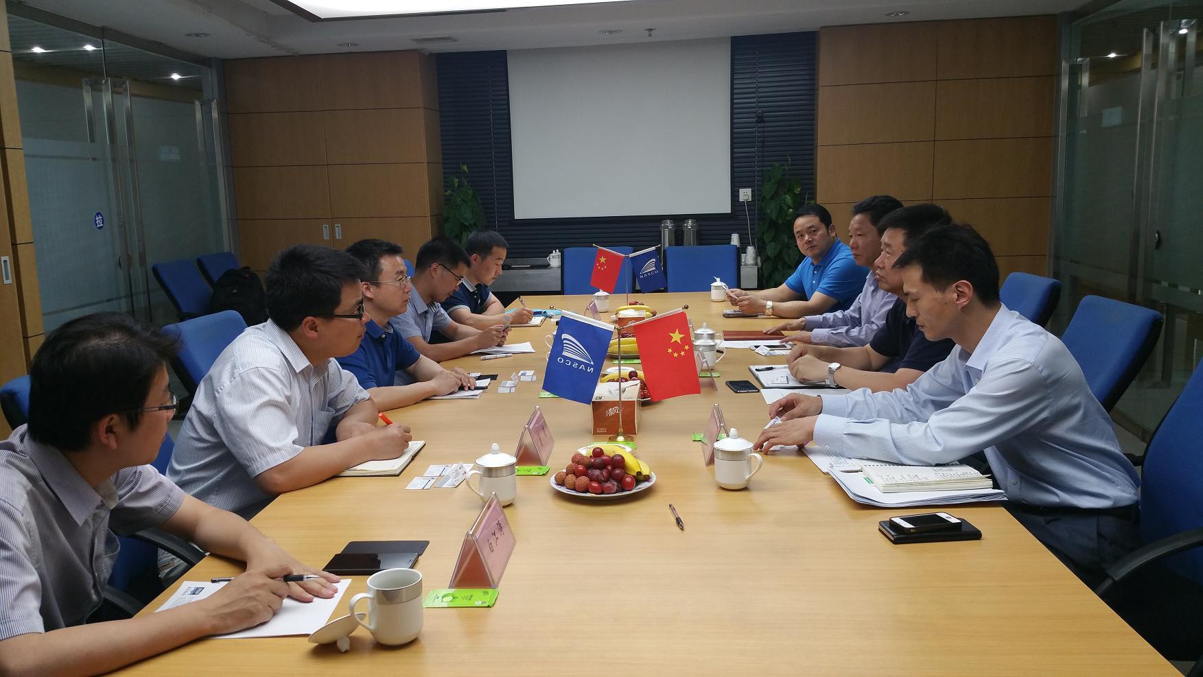 上海海事大学课题组来南京远洋调研